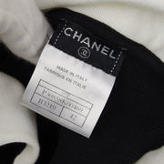 CHANEL 07P #42 Bow Long Sleeve Tops Black