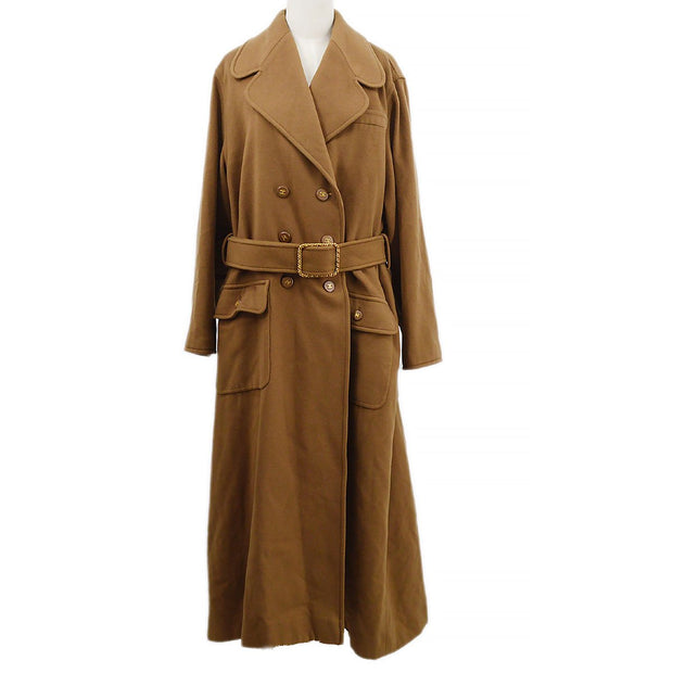 CHANEL 95A #38 Long Coat Brown