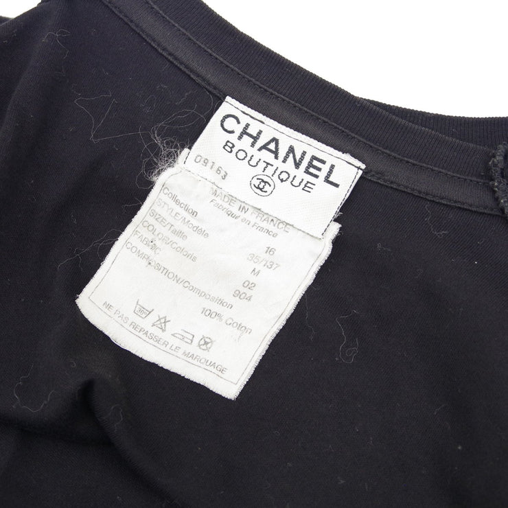 CHANEL #M T-Shirt Black