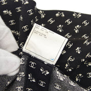 CHANEL 97C #38 Short Sleeve Tops Black