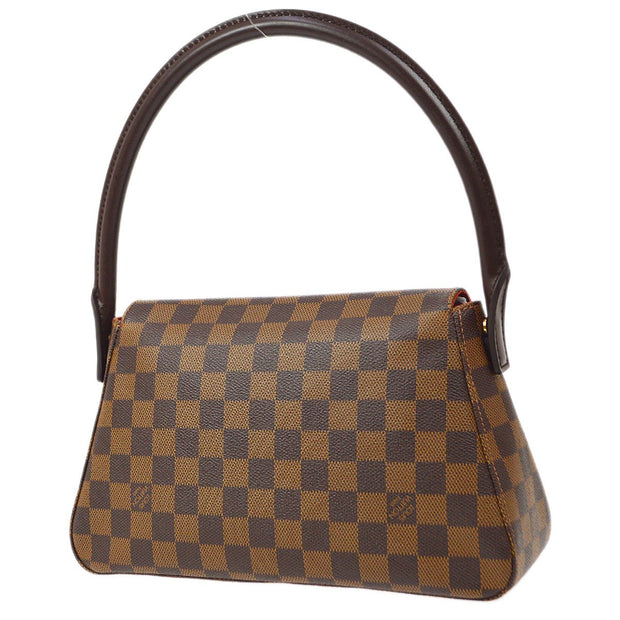 LOUIS VUITTON MINI LOOPING HAND BAG DAMIER N51158