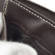 CELINE Macadam Shoulder Bag Brown