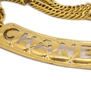 CHANEL Gold Chain Belt 93P