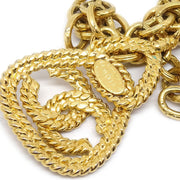 CHANEL Gold Chain Necklace 93A