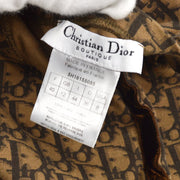 Christian Dior Romantic Trotter Sleeveless Shirt Tank Tops Brown