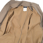 CHANEL 93A #36 Double Breasted Long Sleeve Coat Jacket Brown