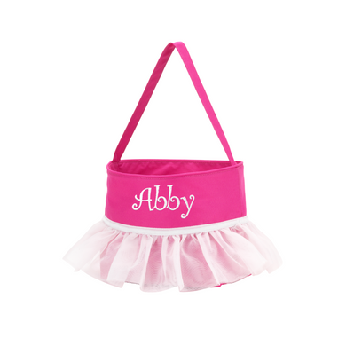 Pink Tutu Easter Basket-Personalization Available