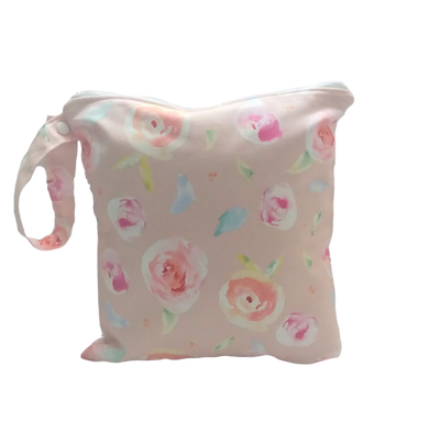Pink Rose Wet Bag-4 Sizes Available