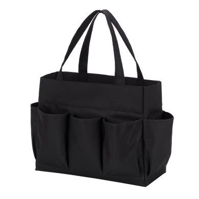 Black Carryall Tote Bag - Personalization Available