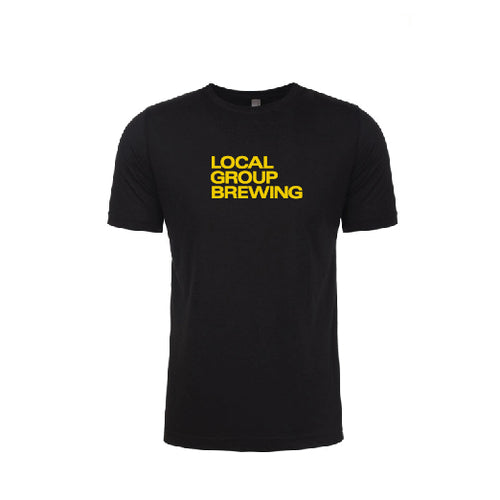 Yellow Local Group Brewing HTX Tee