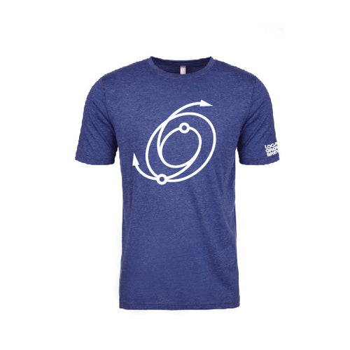 Womens Blue Galaxy Tee
