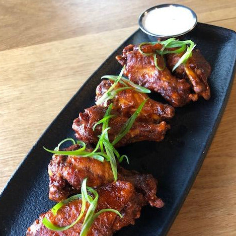 Smoked Chicken Wings (6) or (10)