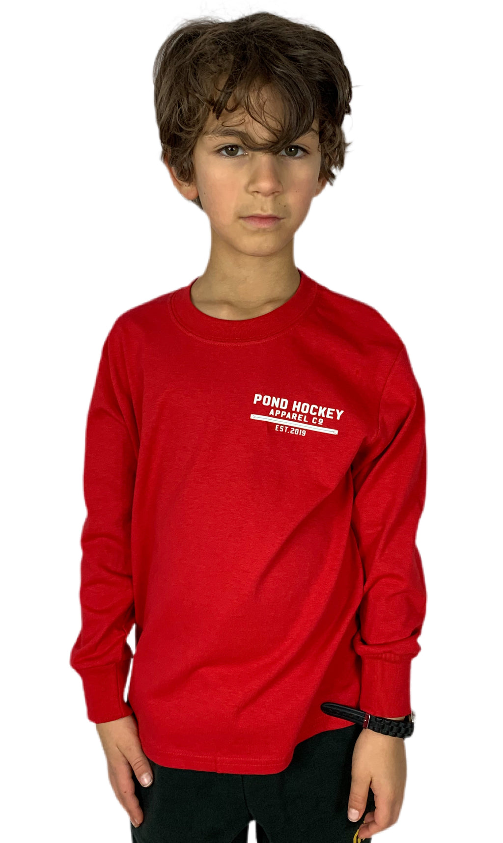 Youth Elevate Long Sleeve Tee