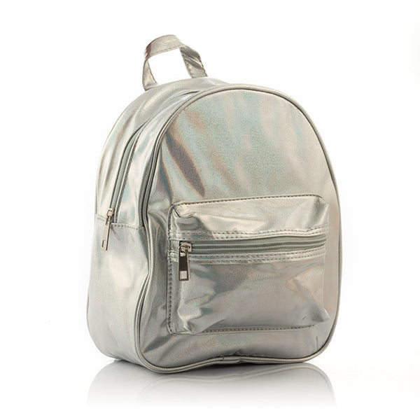 Mochila Metallic Look