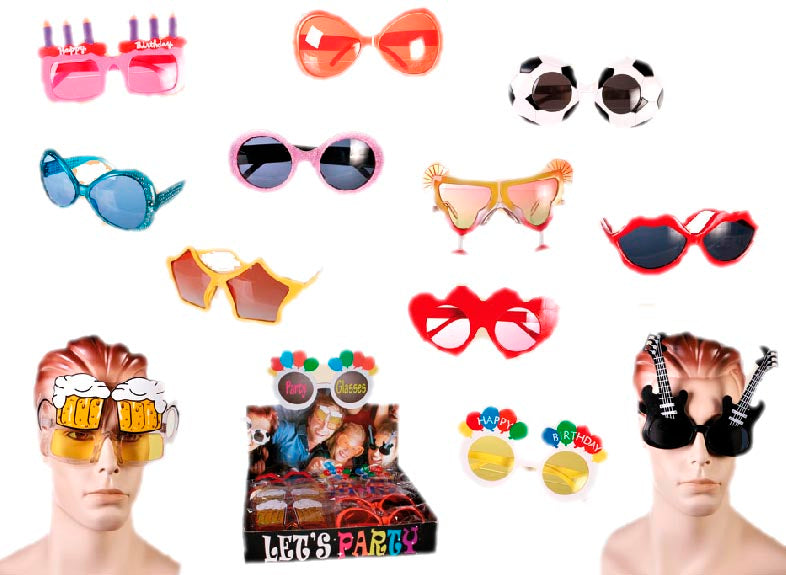 Gafas de Fiesta Th3 Party