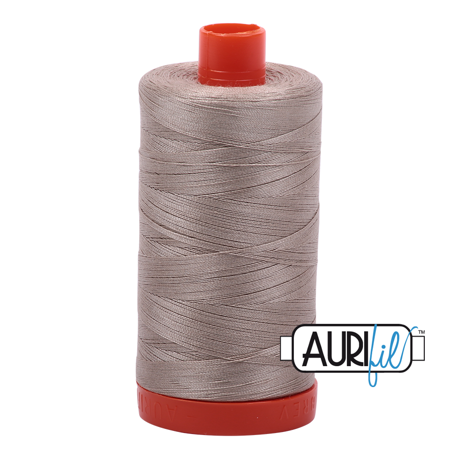 Aurifil 50 WT Cotton Rope Bridge #5011