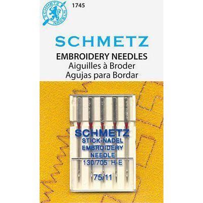 Schmetz - Embroidery Needles Size 11/75