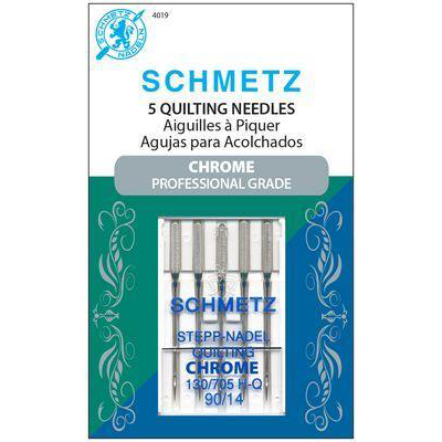 Schmetz Chrome Quilting Needles Size 90/14