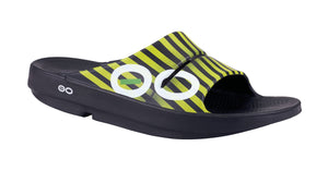 Men's OOahh Sport Slide Sandal - Yellow Stripe