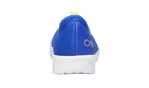 Women's OOmg Mesh Low Shoe - White Blue