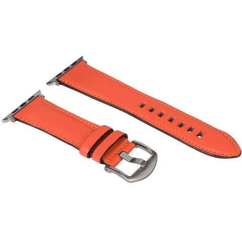 Tangerine Marmalade - 38mm/40mm / Silver - Apple Watch Band