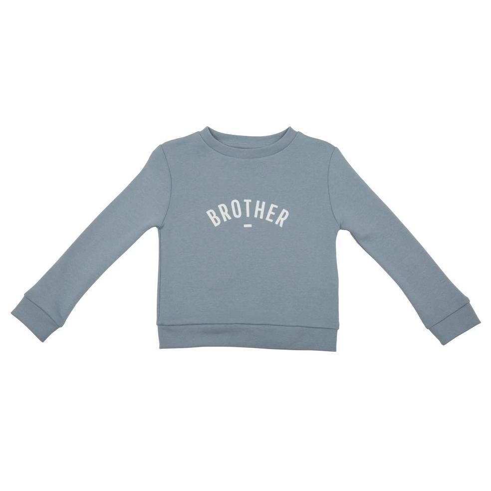 Brother' Blue Long-Sleeved Sweatshirt