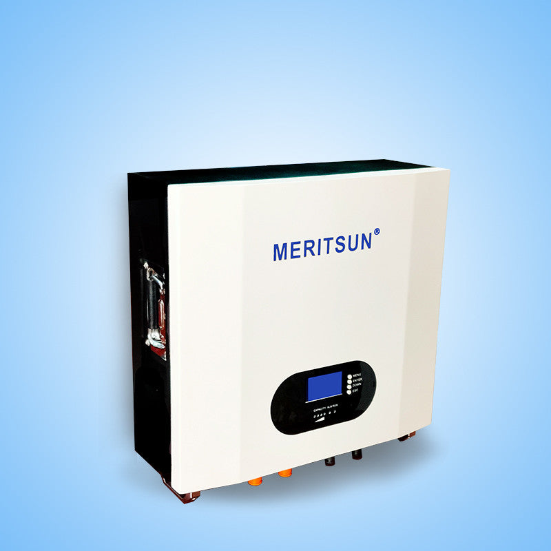 48V 5-10KWh MERITSUN Power Wall Lithium Batterie ESS