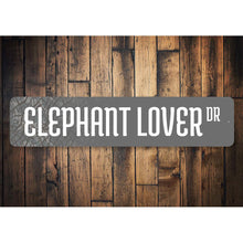 Load image into Gallery viewer, Elephant Lover Street Sign