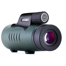 Load image into Gallery viewer, USCAMEL 8X42 Monocular Compact Hunting BAK7 Clear Vision for Bird Watching Waterproof Telescope HD (Black,Army green)