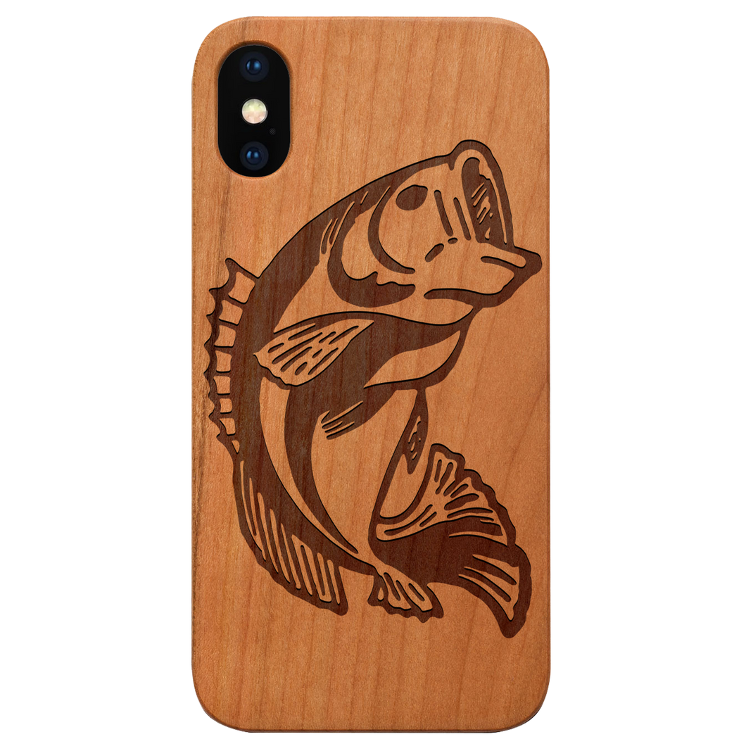 Bass Fish - Engraved