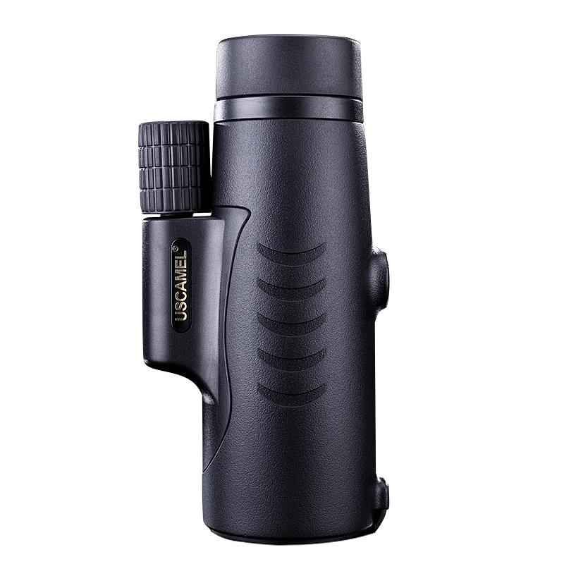 USCAMEL 8X42 Monocular Compact Hunting BAK7 Clear Vision for Bird Watching Waterproof Telescope HD (Black,Army green)