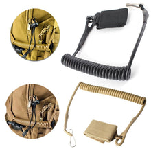 Load image into Gallery viewer, Molle Airsoft Coil Sling Military Elastic Belt Spring Strap