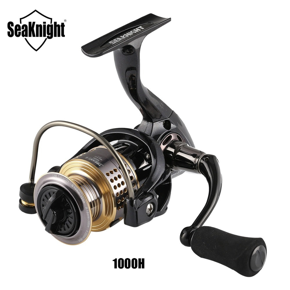 SeaKnight TREANT II 5.0:1 6.2:1 Fishing Reel  Spinning Reel 13KG Max Drag Power Bass Carp Fishing Tackles