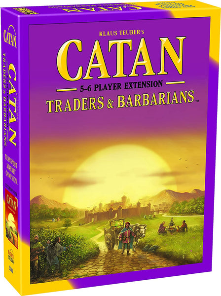 Catan Studios - Catan: Traders & Barbarians 5-6 Player Extension