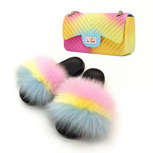 Fur Slide Sets