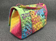 Load image into Gallery viewer, Rainbow Graffiti Handbag