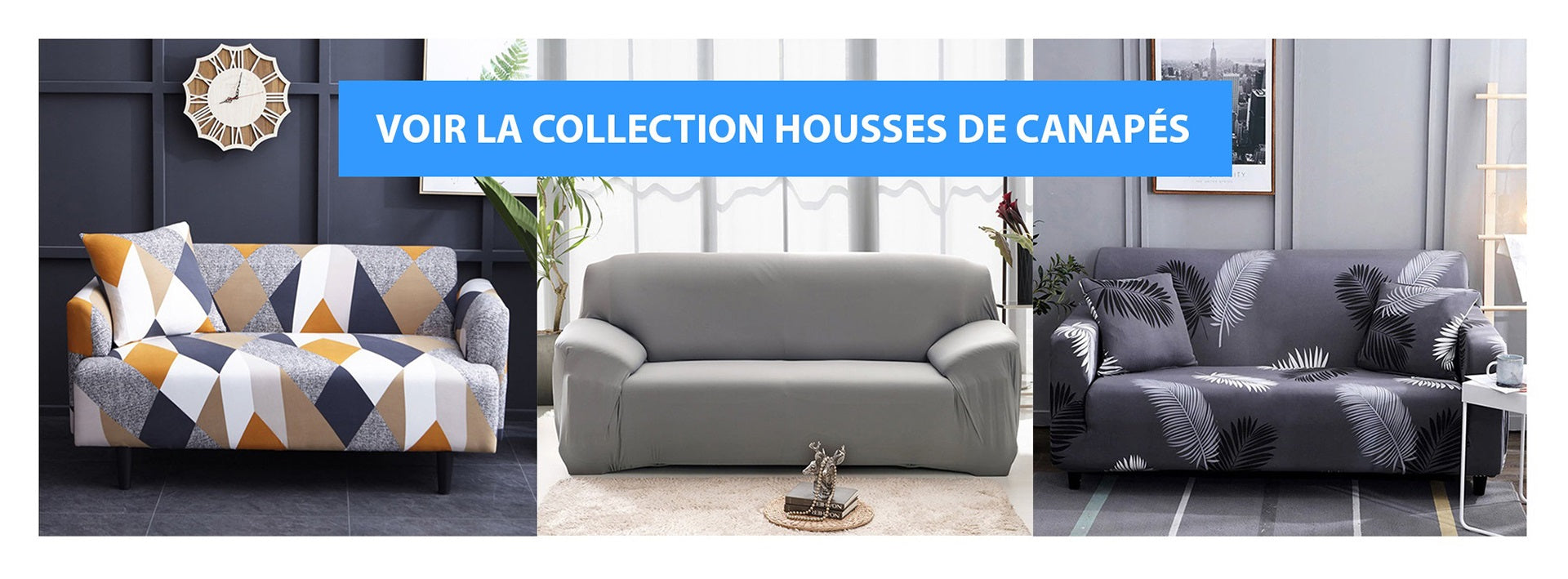 Collection Housse de Canapé Extensible