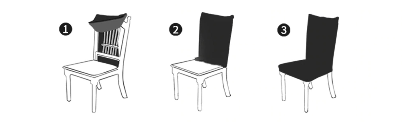Comment installer ma housse de chaise ? Instructions par etapes pour l'installation
