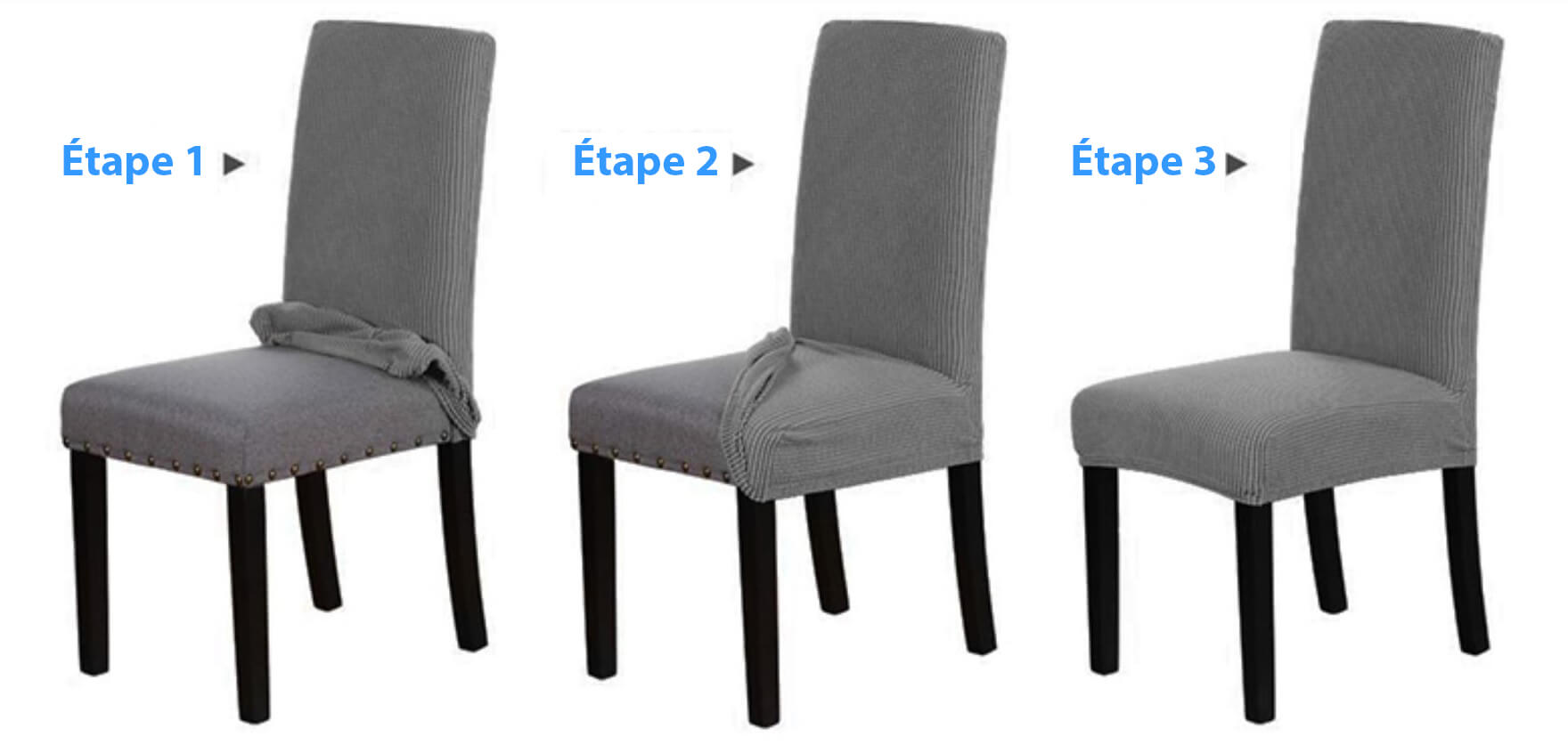 Comment installer ma housse de chaise impermeable ? Instructions par etapes et guide pour l'installation