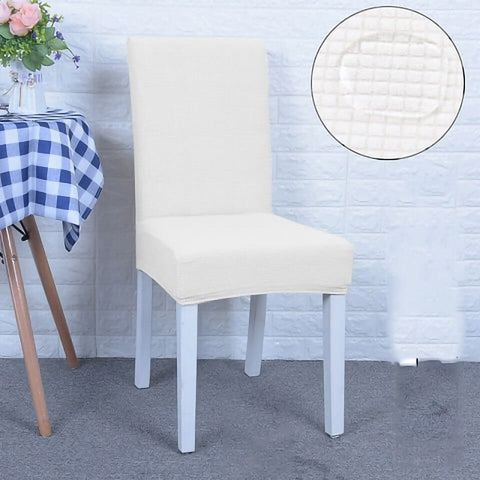 Housse de chaise impermeable blanc