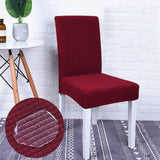 Housse de chaise impermeable rouge