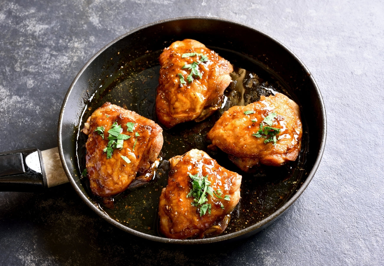Honey Soy Chicken Thighs | Bring Home The Bacon