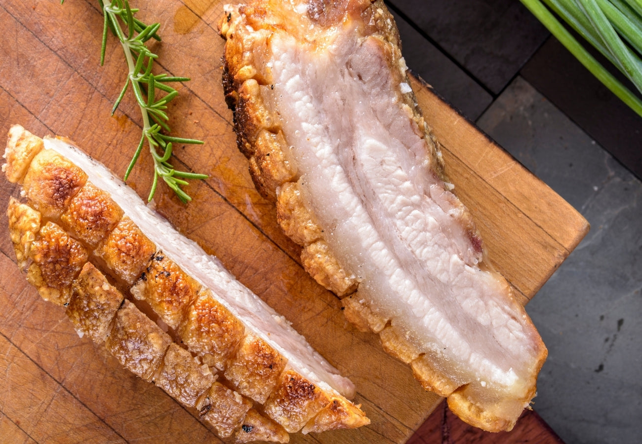 Roasted Pork Belly | Bring Home The Bacon