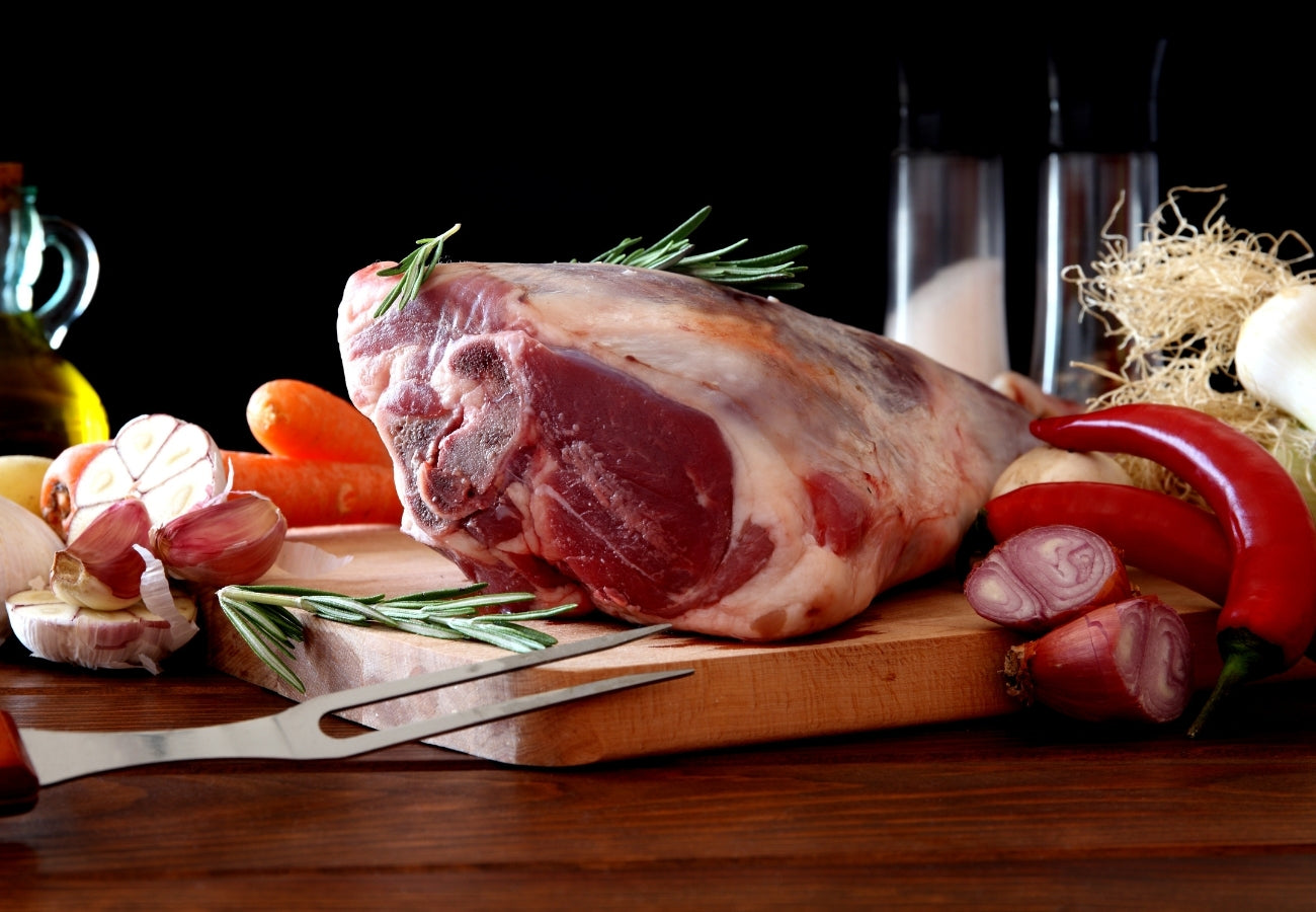 Slow Roasted Leg Of Lamb | Bring Home The Bacon