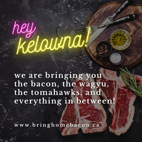 Meat & Seafood Delivery to Kelowna, BC