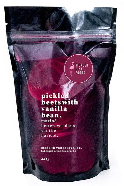 Tickled Pink Pickled Beets With Vanilla Bean