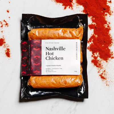 Nashville Hot Chicken Sausage