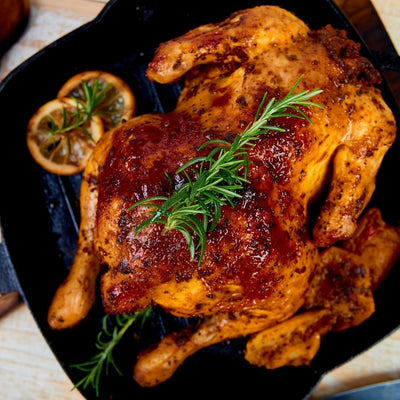 Harrisa Spiced & Marinated Whole Free-Run Chicken