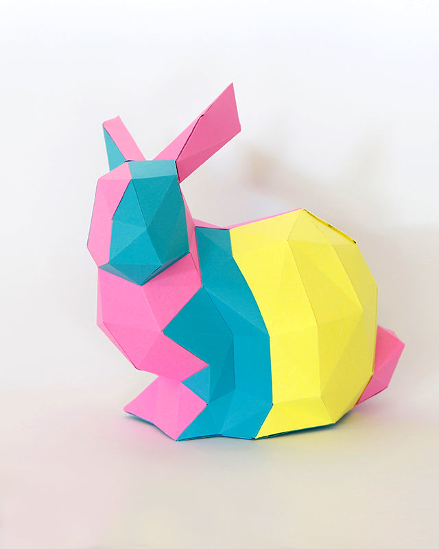 Conejo DIY de papel Mix