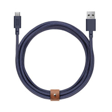 Load image into Gallery viewer, 10ft USB-C to USB-A XL Belt Cable